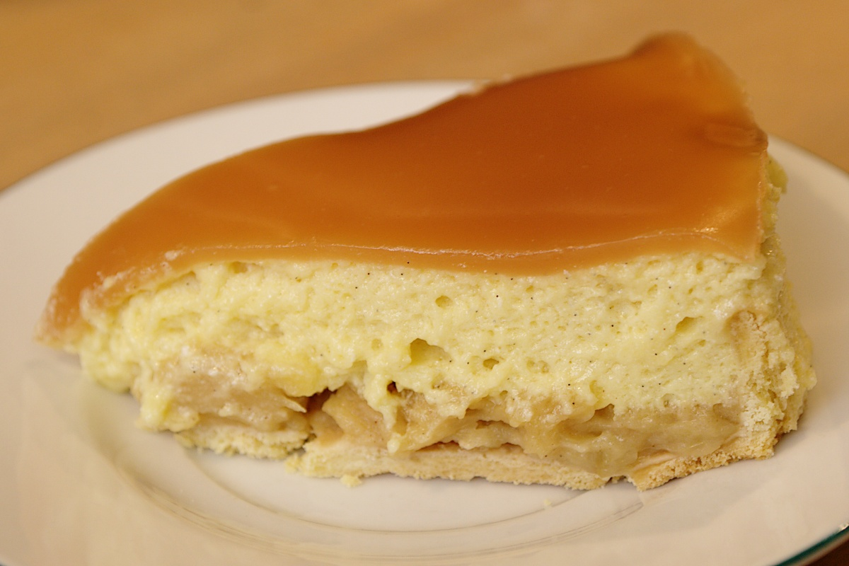 G teau aux pommes le go t l 39 odeur for Idee de dessert original