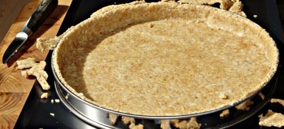 Fond de tarte aux flocons d avoine le go t l 39 odeur - Fond de tarte biscuit ...